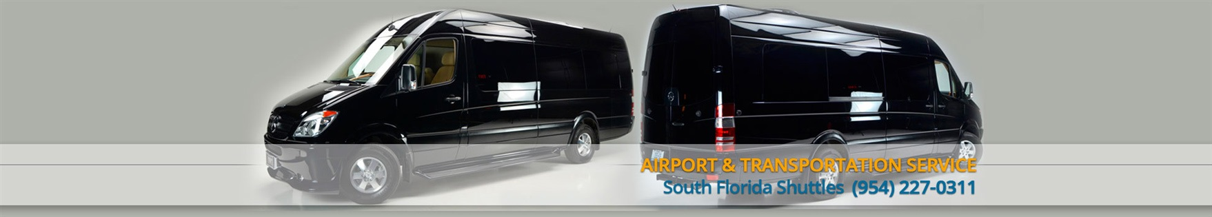 Fort Lauderdale airport shuttle & Seaport Shuttle service